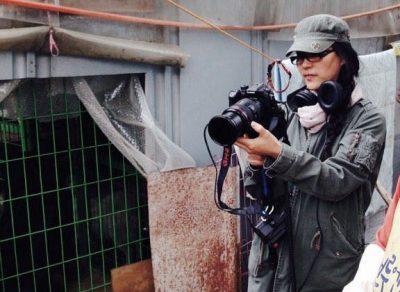 EK Park shooting on location in Korea