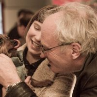 Hoi meets her grandpa